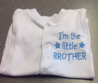Little Brother Baby Grow